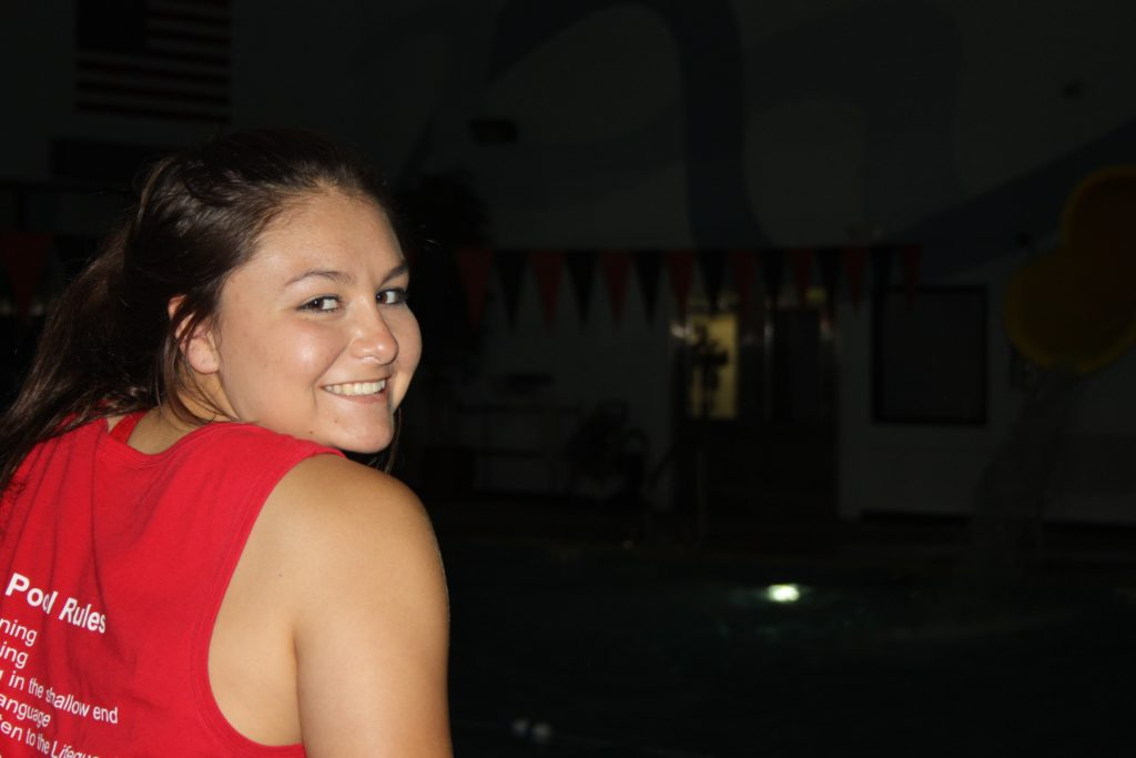 Raye (Second Year Lifeguard)