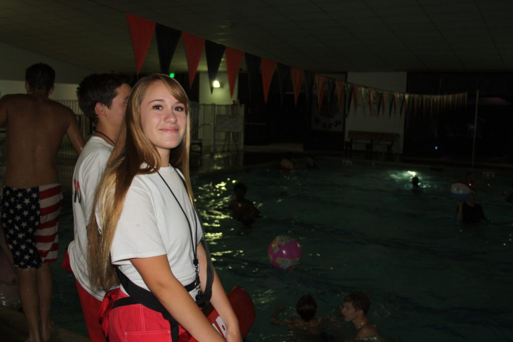 Savannah (First year Lifeguard)