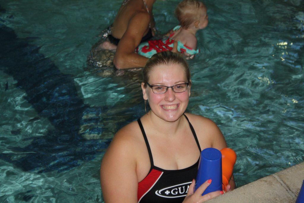 Kaylee Ann (Second year Lifeguard)